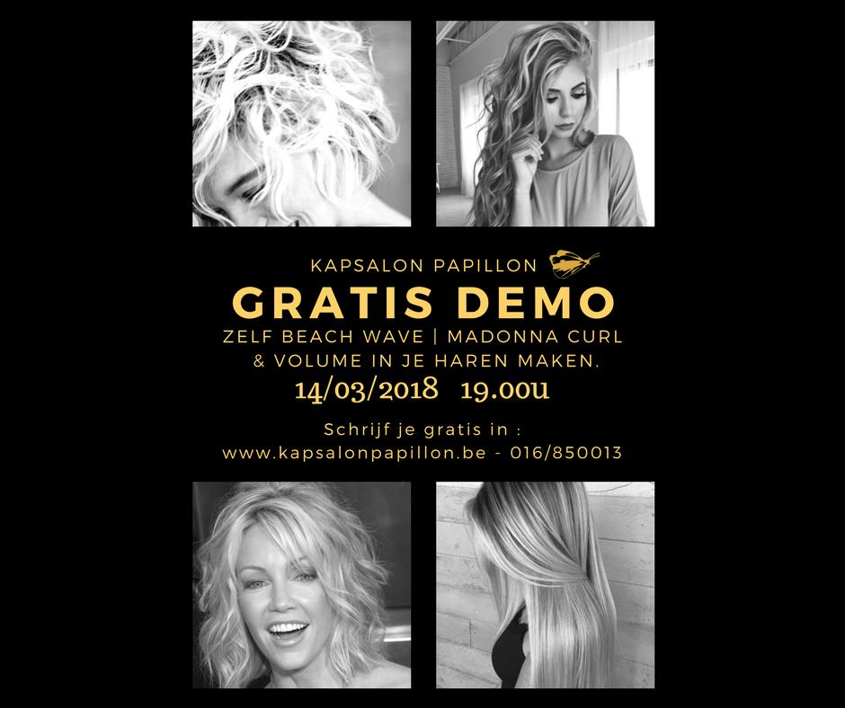Gratis Demo Beach – Madonna Curl – Volume
