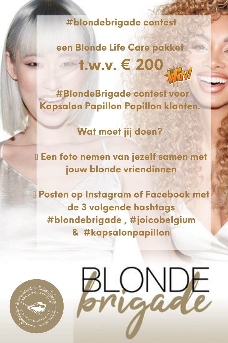 Win Blond Life Care Pakket T.w.v. €200